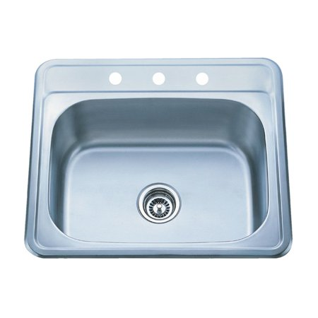 Kraus KTM25 Single Basin Drop In Kitchen Sink