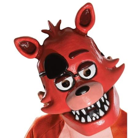 Five Nights at Freddy's - Foxy Child PVC - Pumpkin Mask For Kids