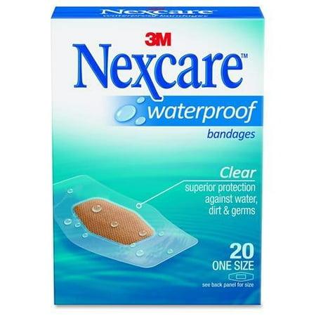 - 3m Nexcare Clear Waterproof Bandage (Pack of 12)