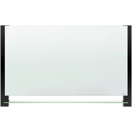Quartet, QRTG3922BA, Evoque™ Magnetic Glass Dry-Erase Boards with Invisible Mount, 1 - Coated Mounting Boards