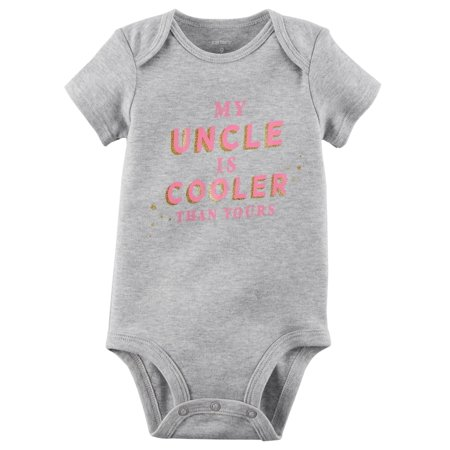 Carter's Baby Girls' My Uncle Is Cooler Than Yours Collectible Bodysuit - Ice King Onesie