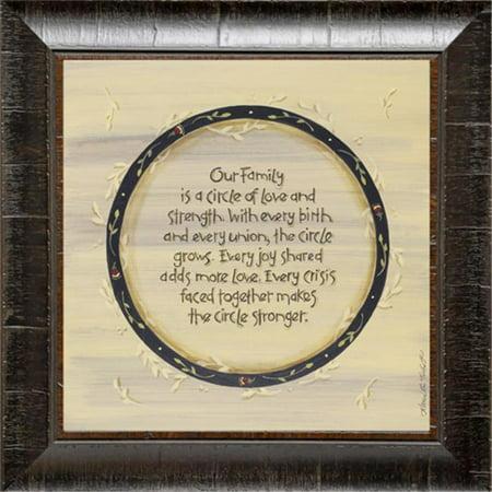 Karens Art And Frame Kt3069 Family Circle Walmart
