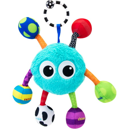 Sassy Grasp & Giggle Guy Baby (Best Sassy Rattle)