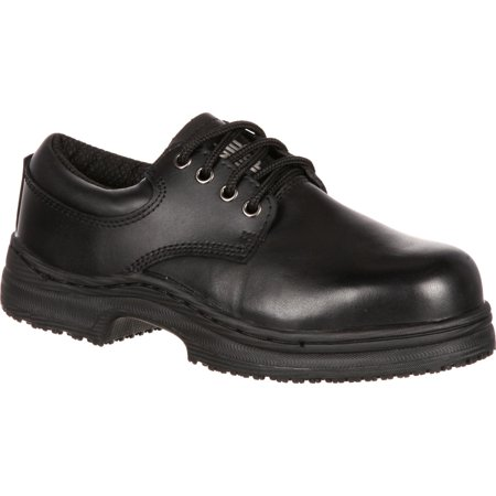 - SlipGrips Women's Steel Toe Slip-Resistant Oxford