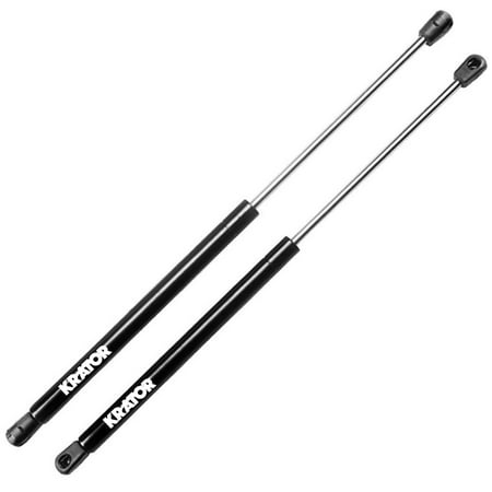 Krator Hood Lift Supports for Dodge Ram 1500 2002-2008 - Hood Gas Springs Strut Prop (Cheap Lift Kits For Dodge Ram 1500)