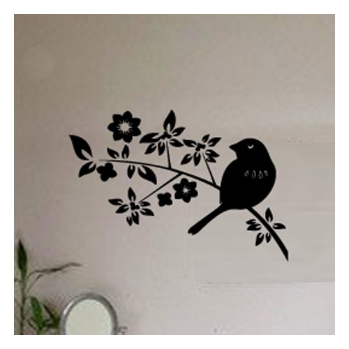 Fox Hill Trading Springtime Birds Vinyl Wall Decal