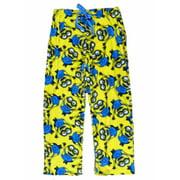 Universal Womens Yellow Minions Plush Lounge Sleep Pant Pajama Bottoms X-Large
