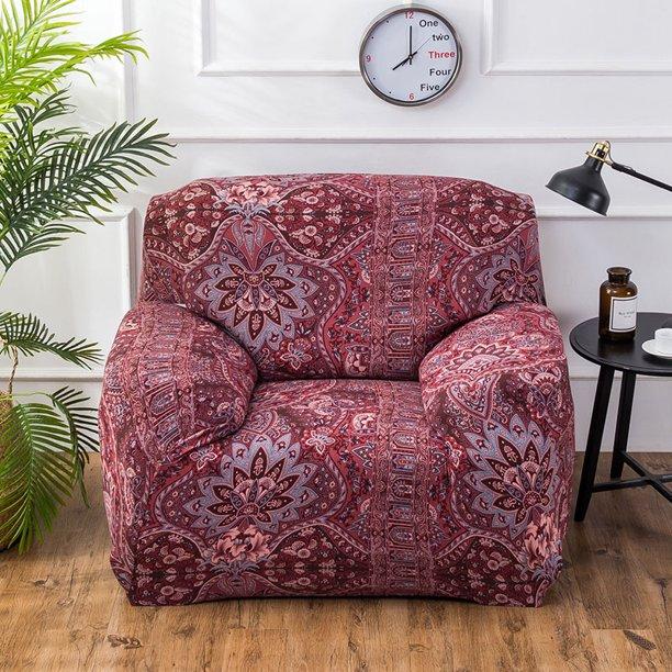 Stretch Fabric Sofa Slipcover 1 2 3 4