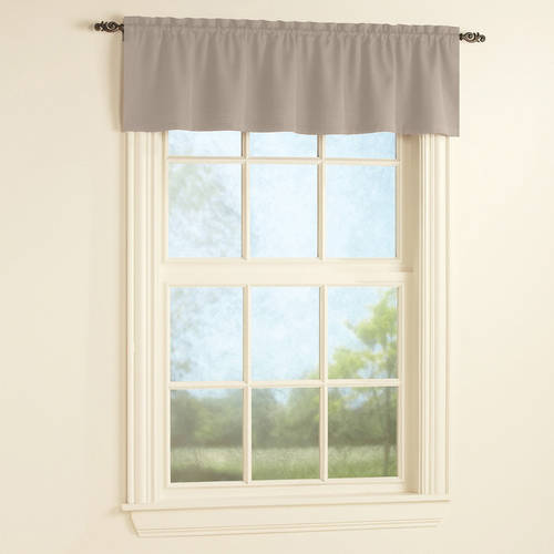 Mainstays Bennett Heavyweight Textured Window Valance