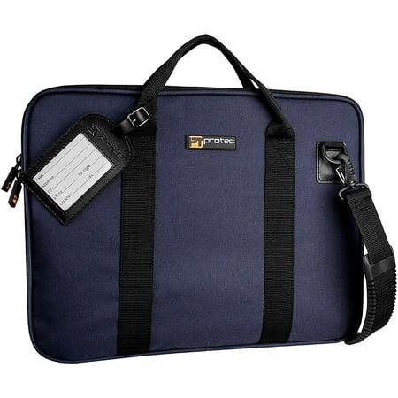 Protec Slim Portfolio Bag, Blue