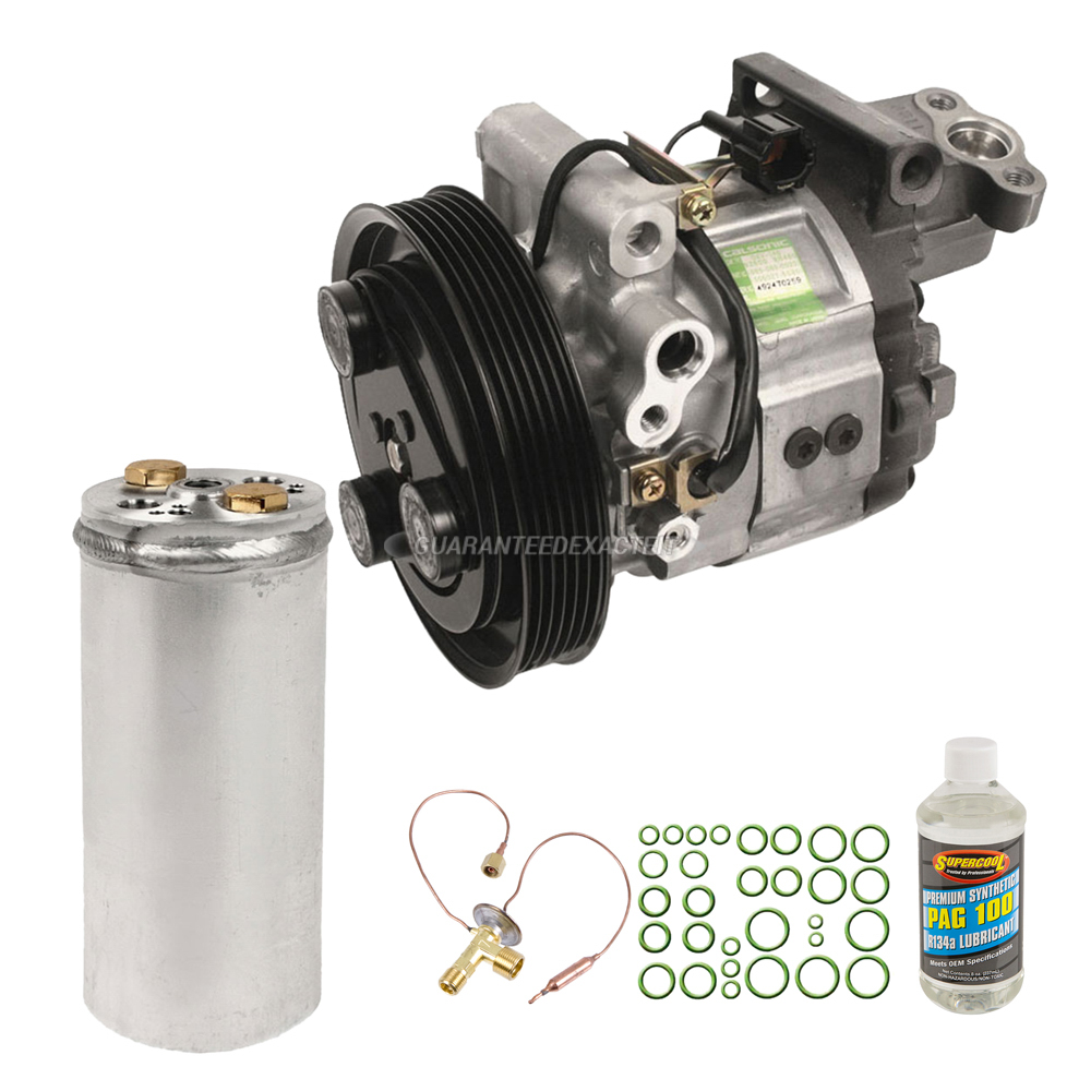 For Nissan Sentra 1995-1998 AC Compressor w//A//C Repair Kit BuyAutoParts 60-82149RK New