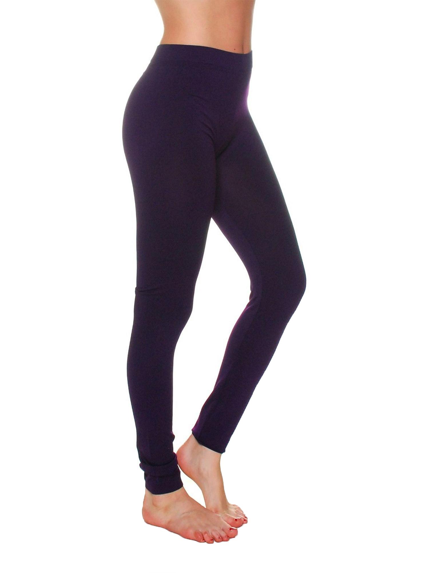 Essential Basic Women Full Ankle Length Seamless Leggings Ankle Length - Jr - Plus Sizes