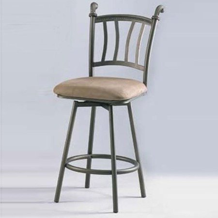 Chintaly imports 26 39 39 swivel counter stool with windsor back set of 2 - Windsor back counter stools ...