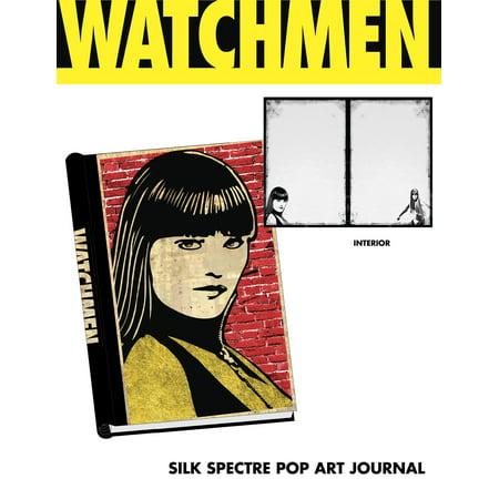 Watchmen - Journal - Spiral Bound Silk Spector Pop Art - Silk Spectre Watchmen
