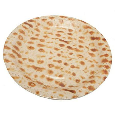 Passover Matzo Patterned Paper Dessert Plates 7