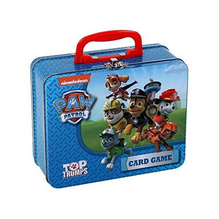 Paw Patrol Top Trumps Collector's Tin Card Game - image 1 de 3