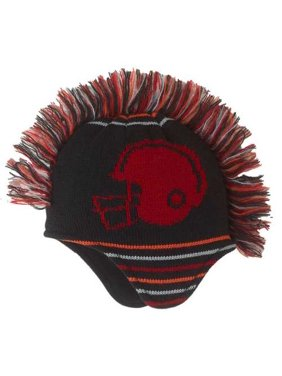 CP Infant & Toddler Boys Football Mohawk Hat Knit Beanie