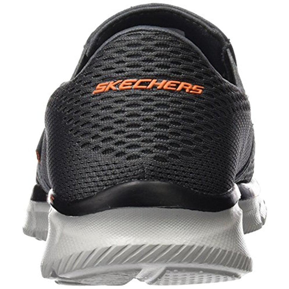 huge discount 45152 f2f3d Skechers - Skechers Sport Men's Equalizer Double Play Wide Slip-on Loafer,  Charcoal/Orange, 9.5 2E US - Walmart.com