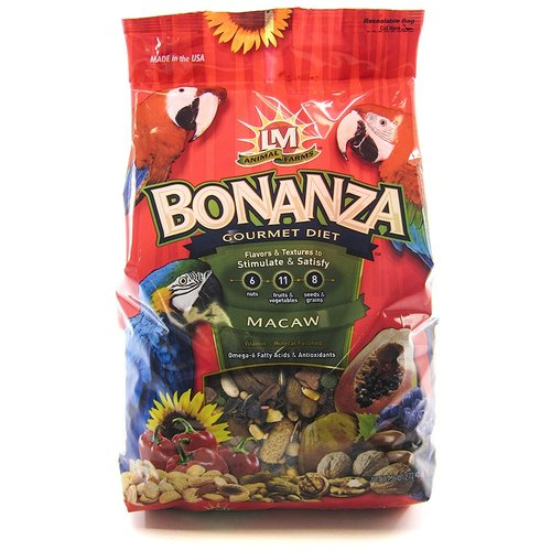 LM Animal Farms Bonanza Gourmet Diet - Macaw Food 6 lbs