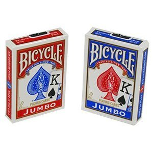 Bicycle Jumbo Index Playing Cards 6 Decks by