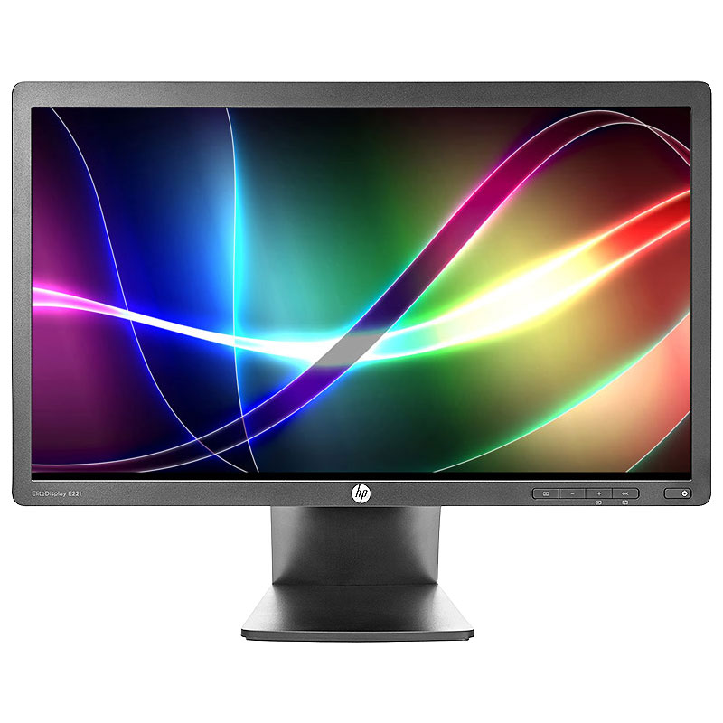 "Refurbished HP E221 1920 x 1080 Resolution 21"" WideScreen LCD Flat Panel Computer Monitor Display"