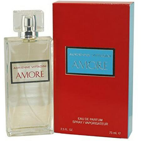 2 Pack - Adrienne Vittadini Amore Eau de Parfum Spray for Women 2.5 -