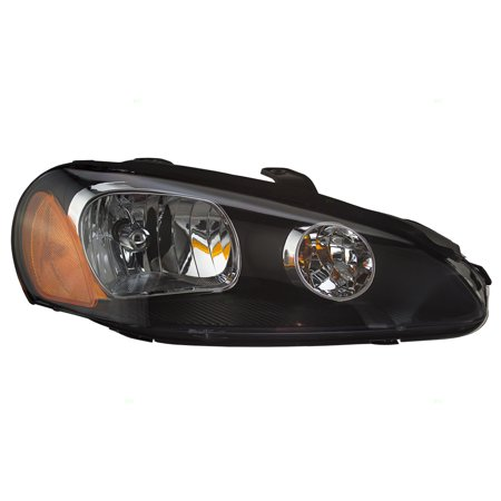 Passengers Halogen Combination Headlight Headlamp Replacement for 03-05 Dodge Stratus Coupe MN133280 2001 Dodge Stratus Headlights