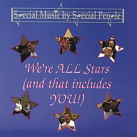 We're All Stars (CD)
