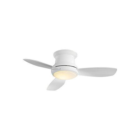minka-aire f519l-wh, concept ii led white flush mount 52