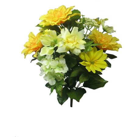 Yellow Dahlia Mixed Bouquet - Walmart.com