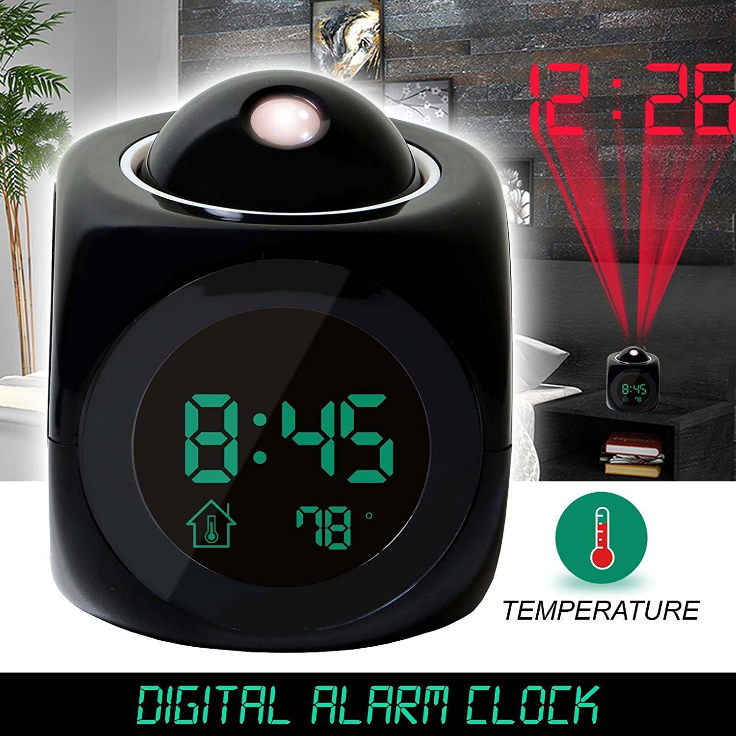 Digital Ceiling Clock