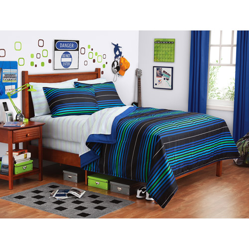 Roswell Stripe Complete Bed in a Bag Bedding Set