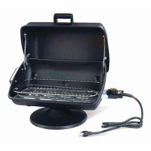 Utility Tabletop Electric Grill in Black
