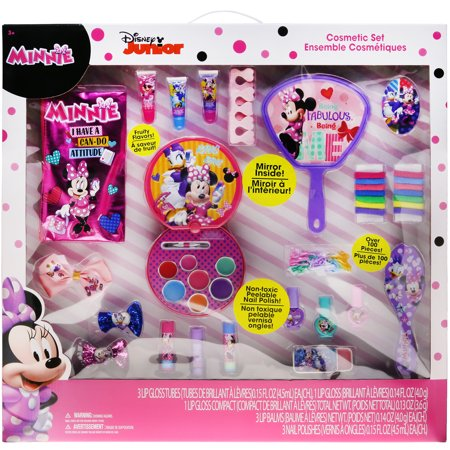 Minnie Mouse Makeup Ideas (MINNIE MOUSE LARGE COSMETIC SET)