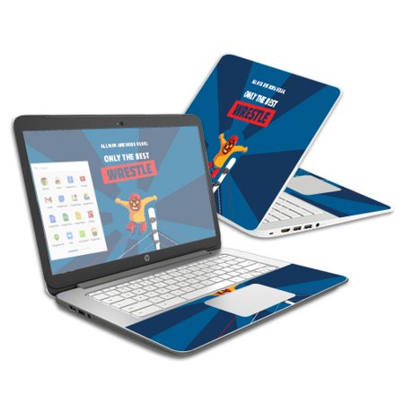 Skin For HP Chromebook 14 – Best Wrestle | MightySkins Protective, Durable, and Unique Vinyl Decal wrap cover | Easy To Apply, Remove, and Change Styles | Made in the