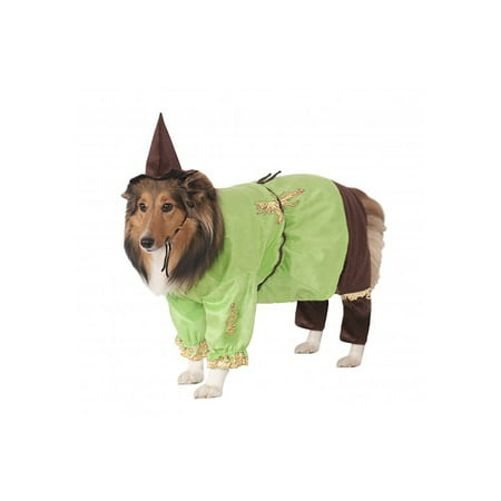 The Wizard Of Oz Scarecrow Pet Dog Cat Halloween Costume (Cat Wizard Of Oz)