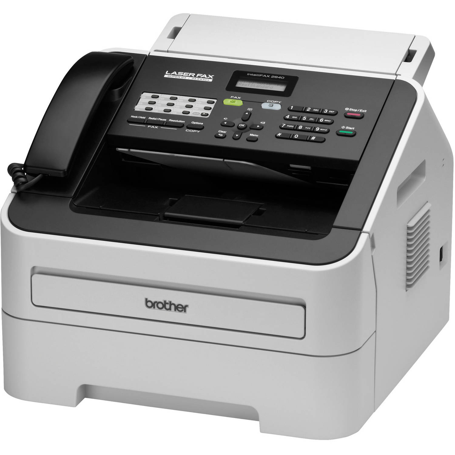 Refurbished Brother Fax2840 Laser Fax and Copier