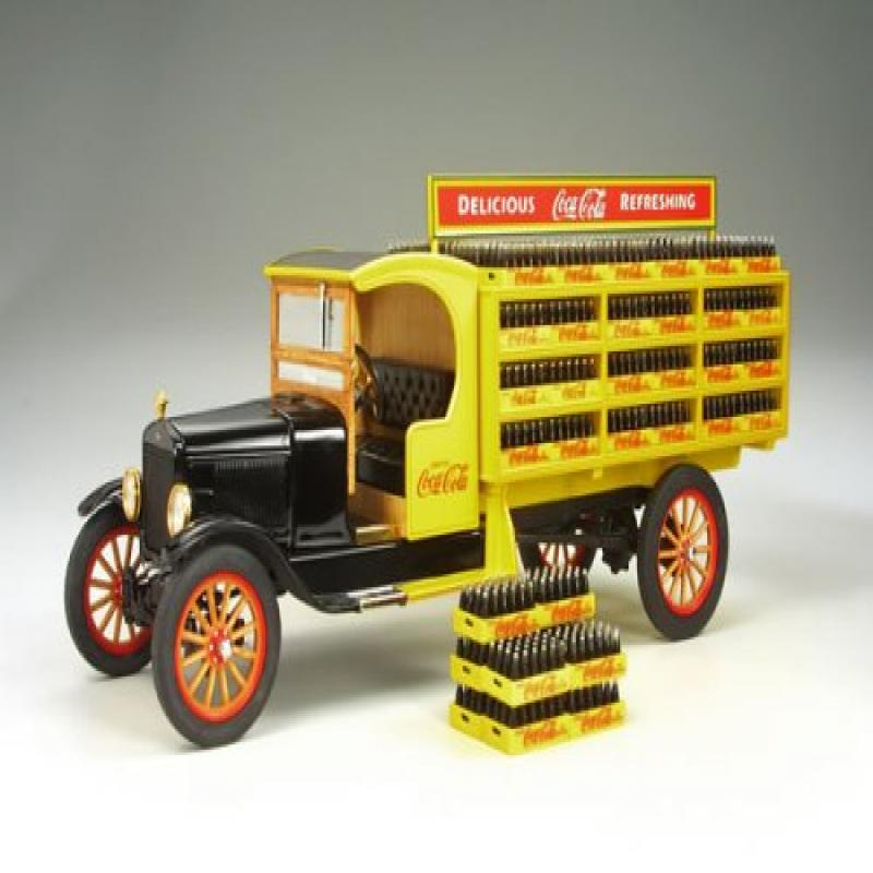 Danbury Mint - Coca-Cola Delivery Truck (Diecast Model) b...