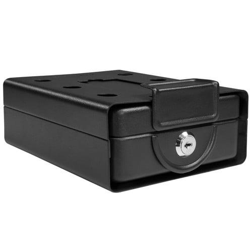 Barska Compact Safe Key Lock Safe with Mounting Sleeve