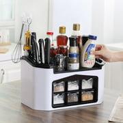 Multifunctional Kitchen Storage Organizer Rack Tableware Cutlery Box Condiment Knives Holder