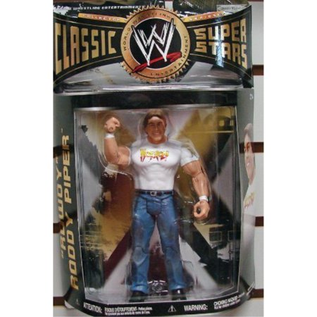 WWE Wrestling Classic Superstars Series 28 Action Figure Roddy Piper - Wwe Roddy Piper