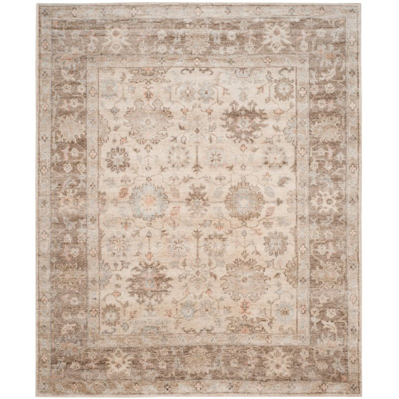 Safavieh Maharaja Hand-Knotted Brown / Ivory Area Rug