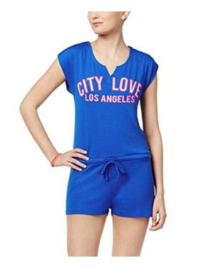 87258e274e1b Product Image Material Girl Active Juniors  Graphic Romper (LA Love