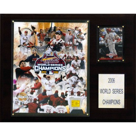 CI Collectables MLB 12x15 St Louis Cardinals 2006 World Series Champions Plaque