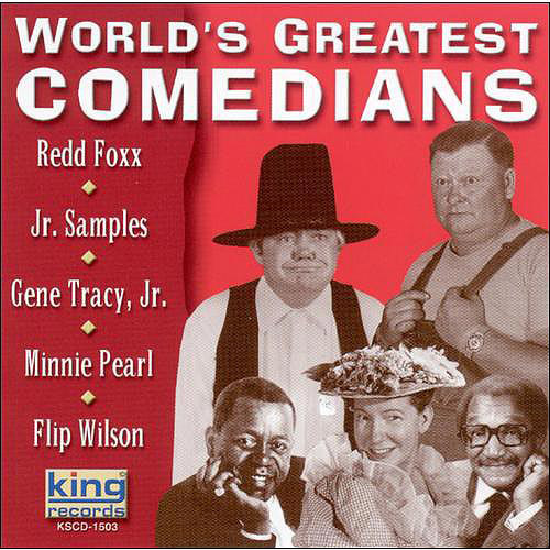 Fox/Tracy/Pearl/Samples/Wilson - World's Greatest Comedians [CD]