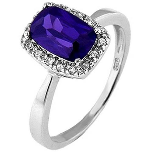 Doma Jewellery SSRZ394PR6 Sterling Silver Ring With Cubic Zirconia, Size 6