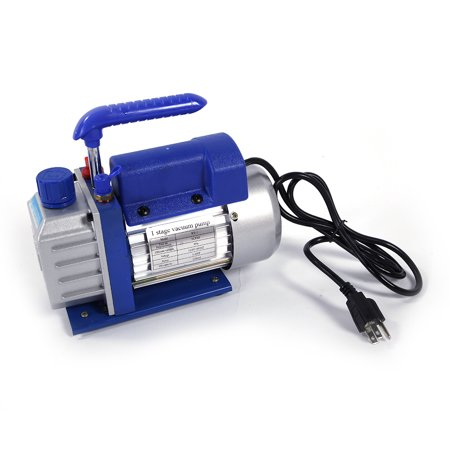 Zimtown 3Cfm 1/4Hp Rotary Vane Vacuum Pump, for Single Stage A/C Deep HVAC Air Conditioning, Perfect for Vacuum Sealing Jars, Preserving Food, Degasification, Hot-forming Plastic - image 5 of 7