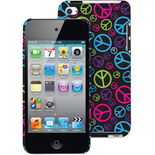 Macbeth Collection Case for iPod touch 4, Neon Peace