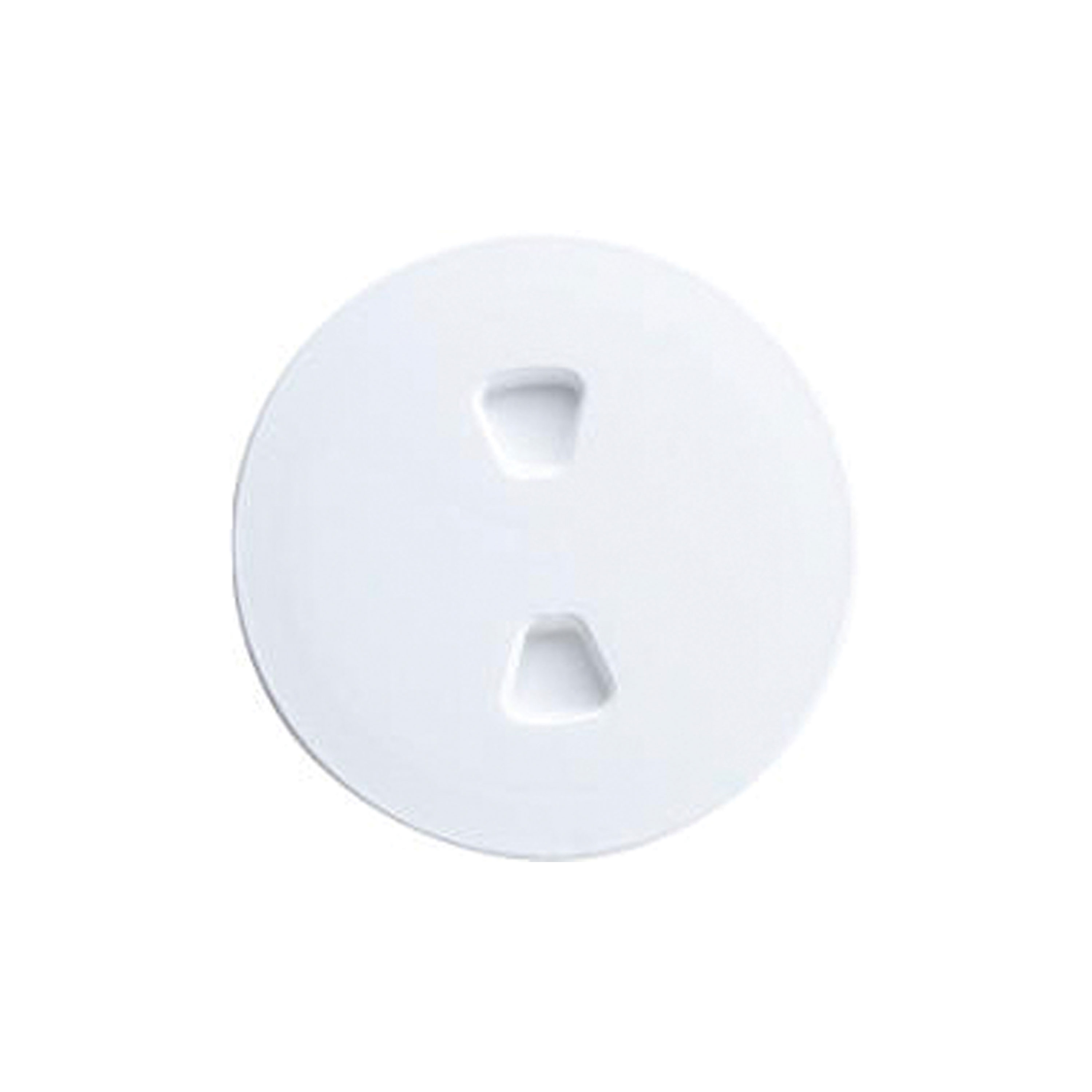 """T-H Marine DPS-6-2-DP Sure-Seal Screw Out Deck Plate Polar White, 6"""" by T-H Marine"""