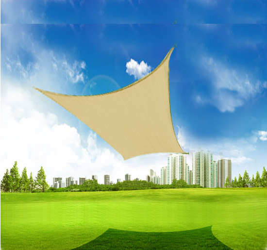 Outsunny 20' x 16' Rectangle Outdoor Patio Sun Shade Sail...
